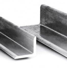 Уголок стальной равнополочный